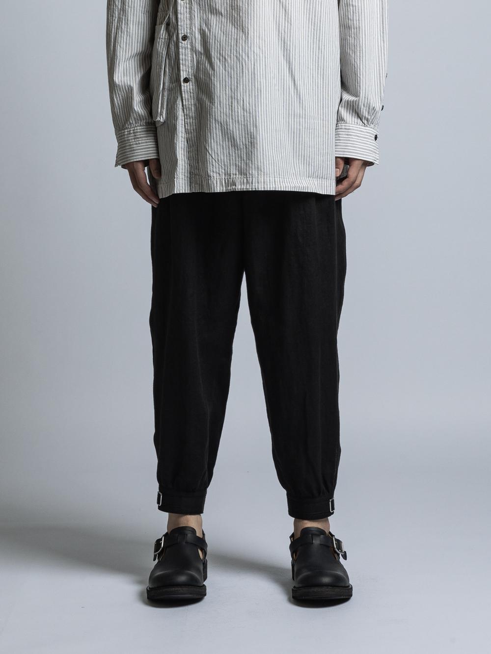 VI-3324-04 / リネン裾カフスパンツ