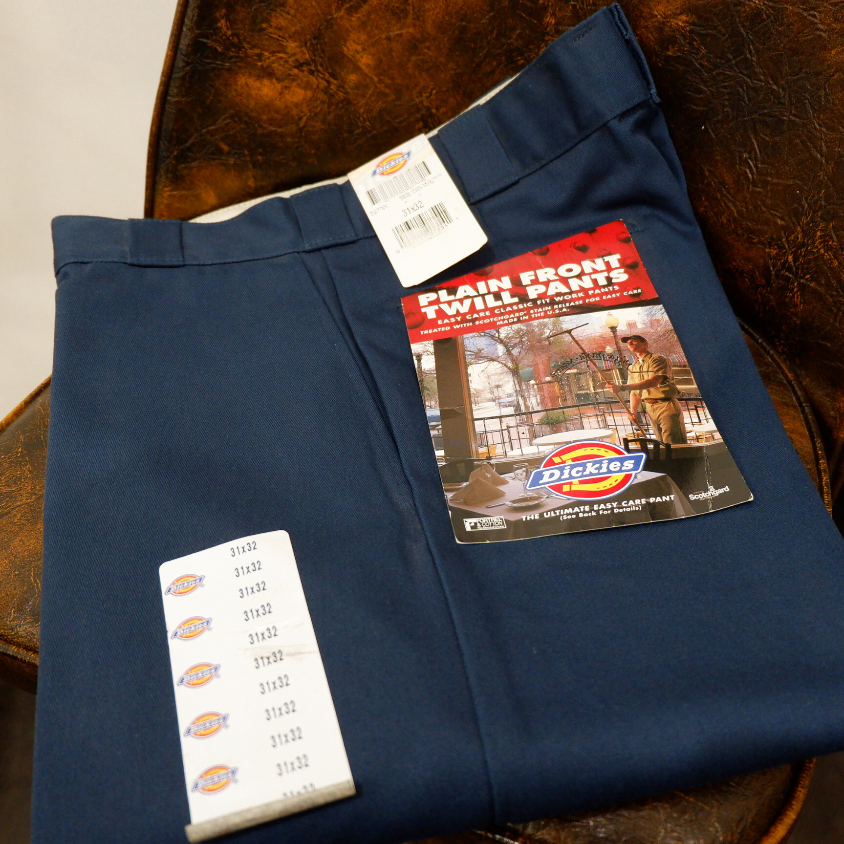 """""""Dead stock"""" アメリカ古着 1990s USA製 Dickies 874 【navy】"""