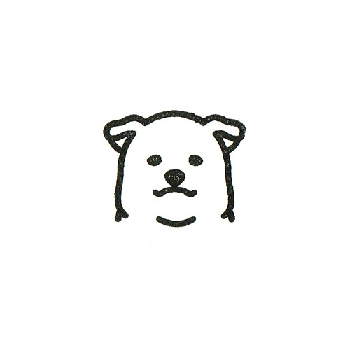 INUHAN FACE(ゴム印)