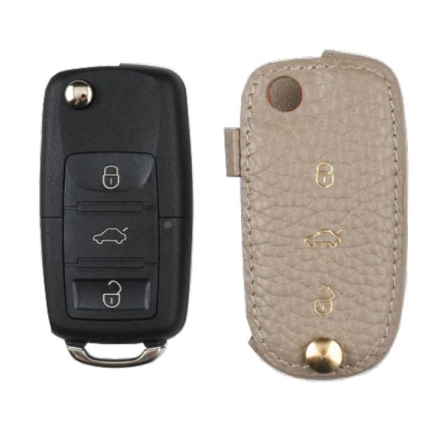 Volkswagen 専用 Type-E Car Key Case Shrink Leather Case