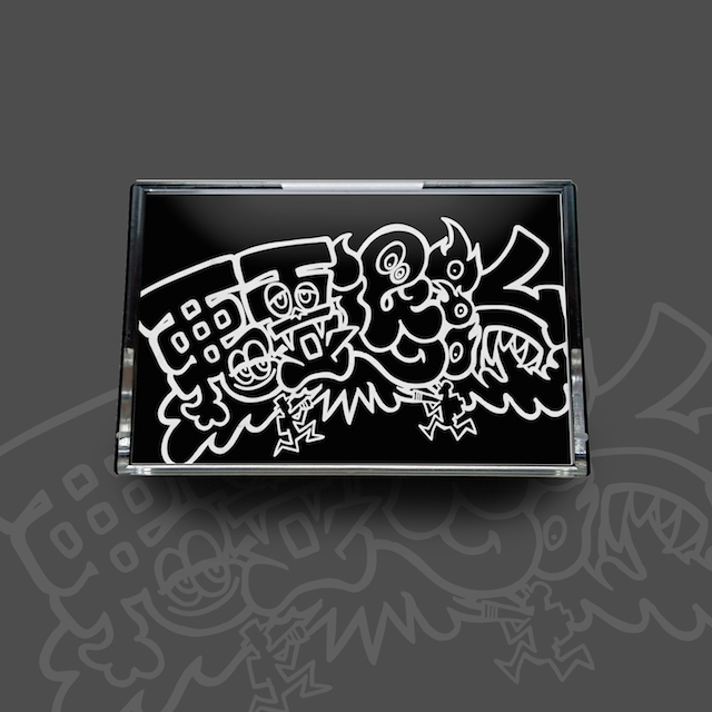 [CASSETE TAPE + DOWNLOAD CODE] METEOR&CHIN-HURTZ / 悪霊退治