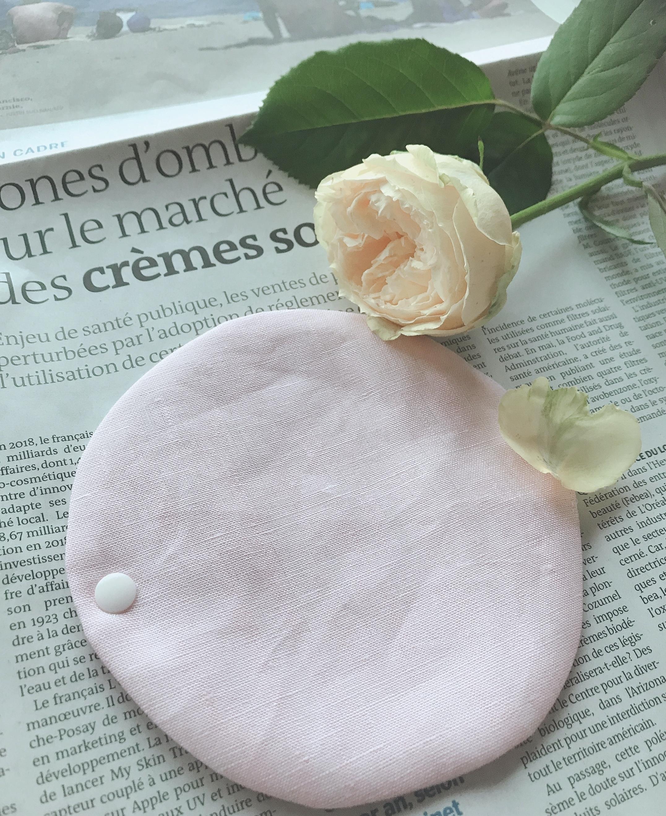 リネン ランジェリー ライナー(pink)