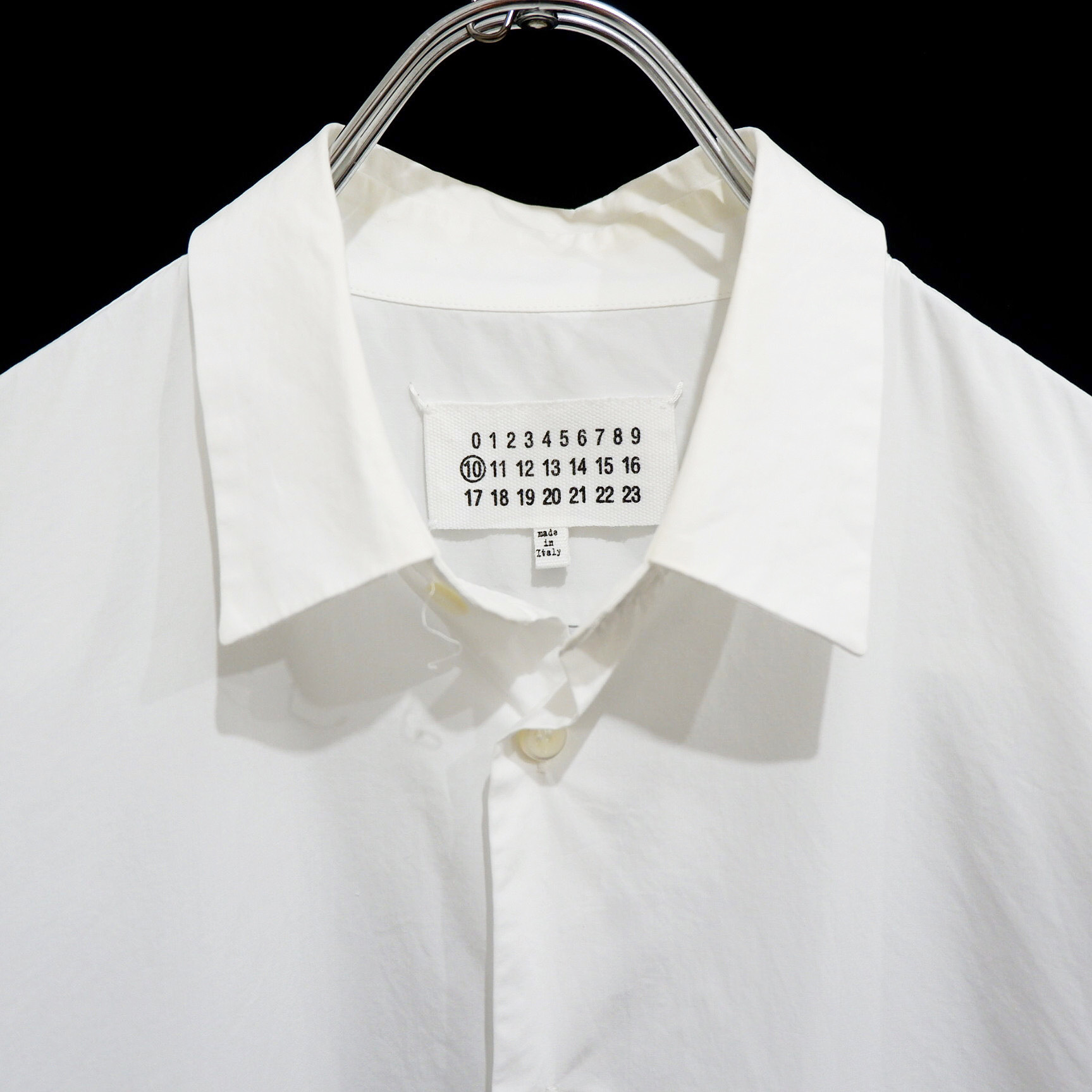 """""""Maison Martin Margiela 10"""" マルジェラ イタリア製 ドレスシャツ"""