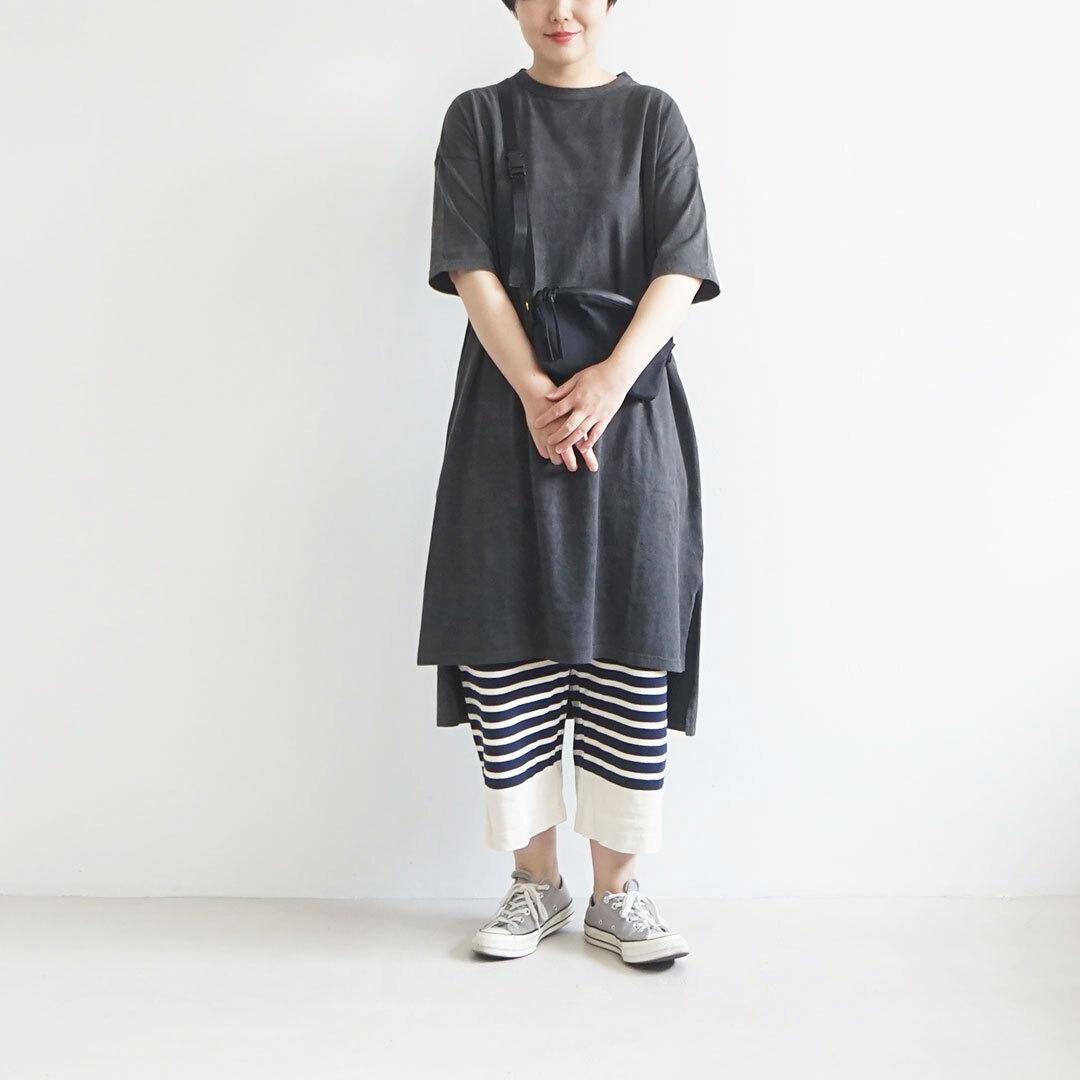 ichi イチ パネルボーダーパンツ (品番190543)