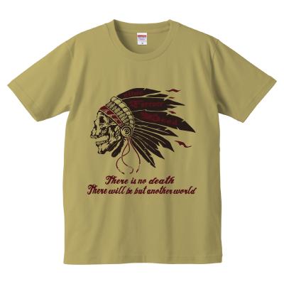 スカル ウォーボーンネット T-shirt(メンズ)