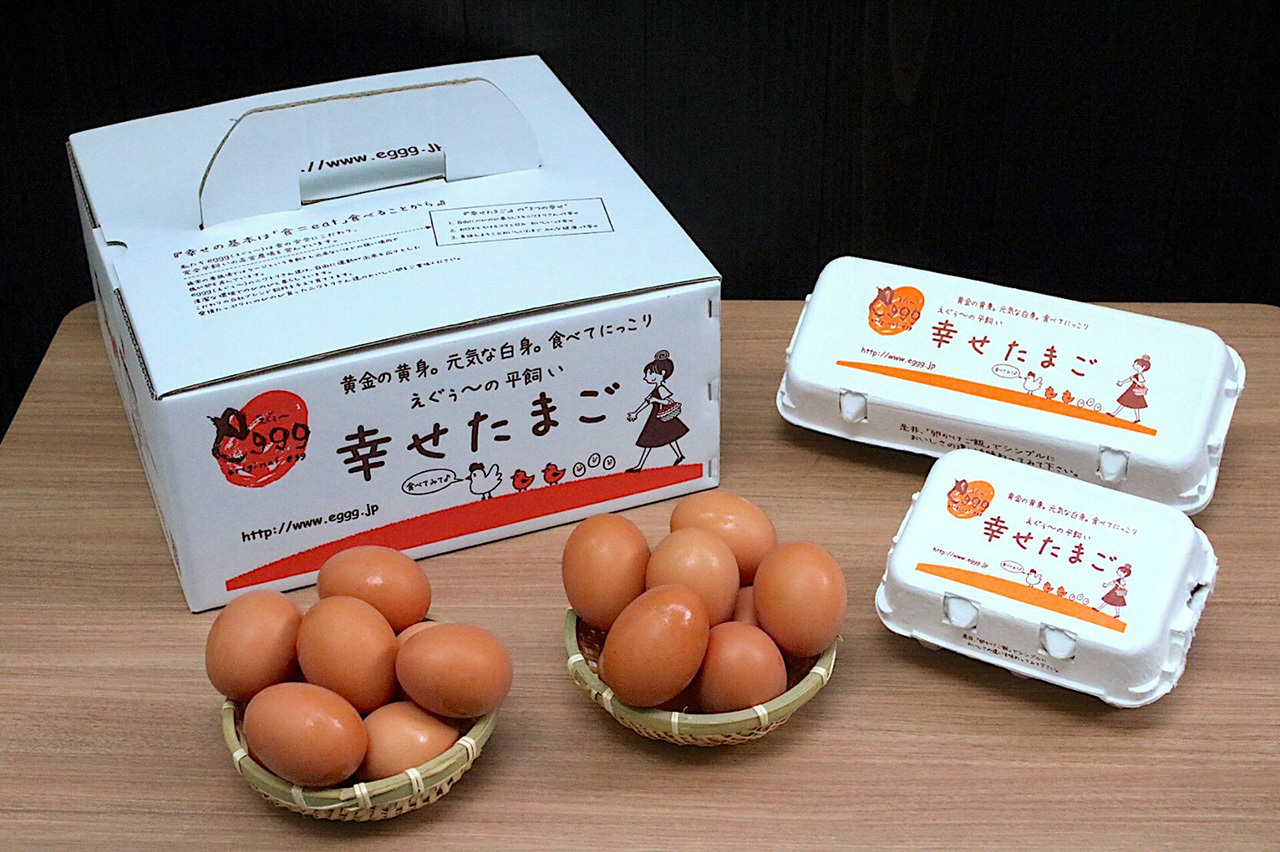 【養鶏場直送】朝採れ幸せたまご(生卵50個)※賞味約4週間