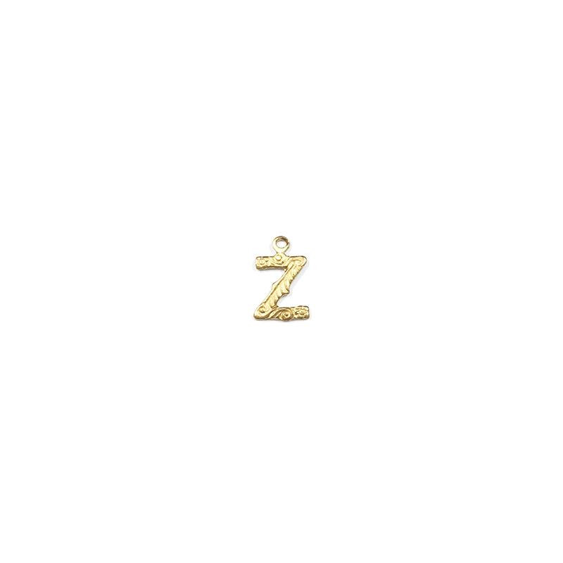 【70%OFF】アルファベット装飾Z