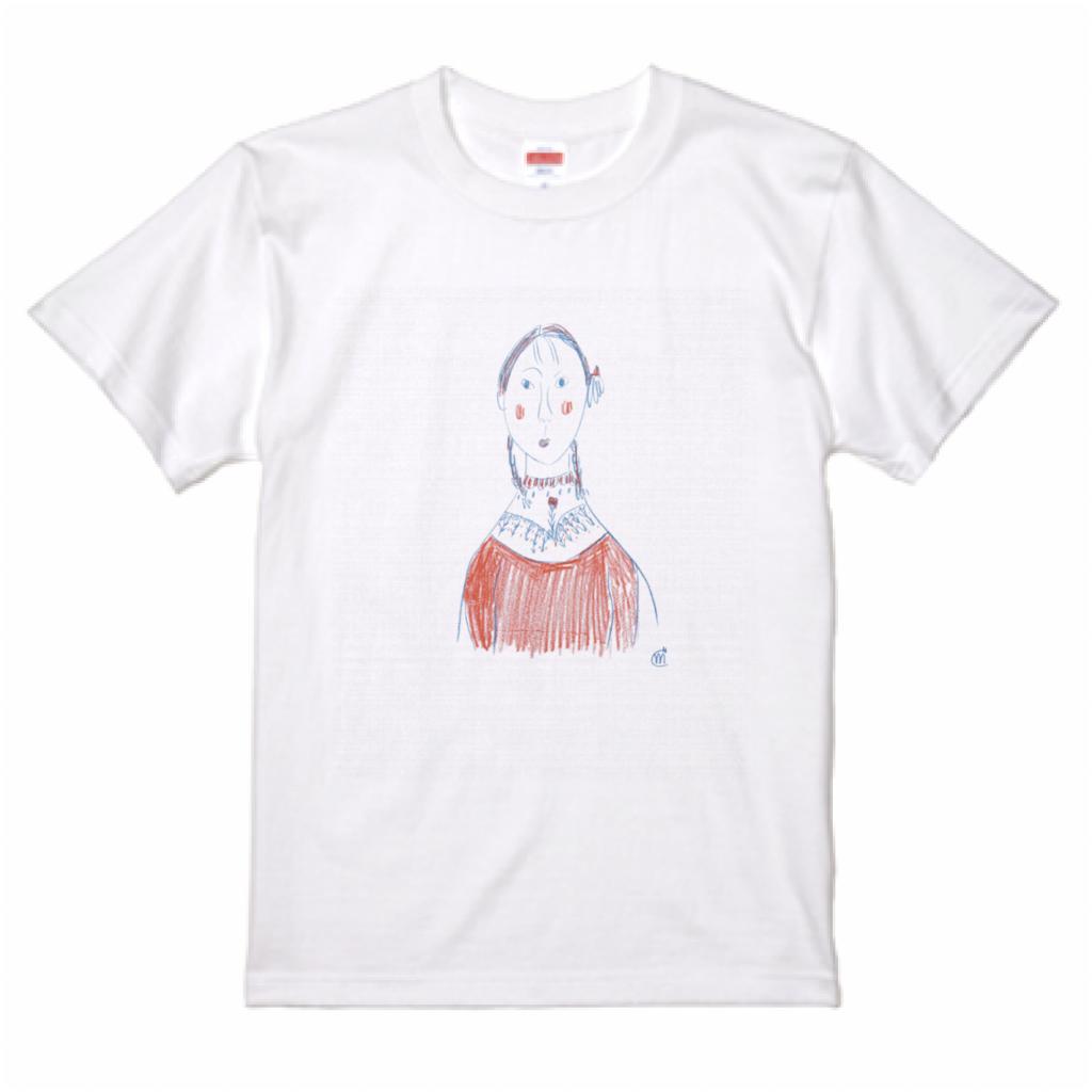 こまつまりこ ART 001-T-shirts