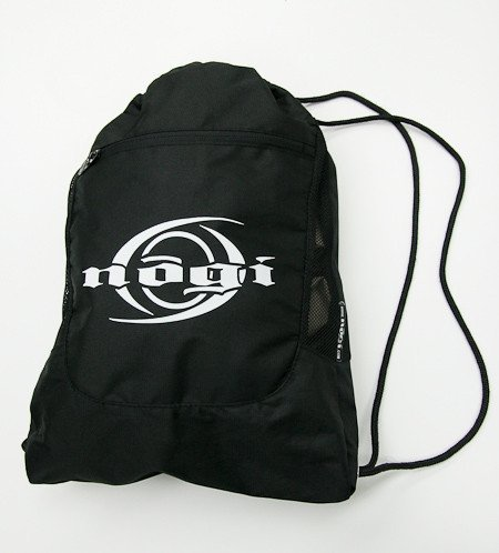 Nogiインダストリー ナイロン 道着袋(貴重品を入れるポケット付き)柔術バッグ
