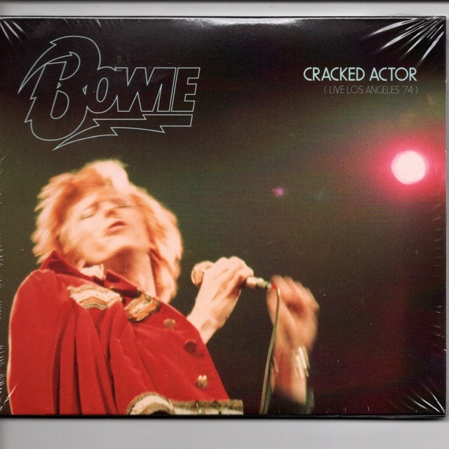 【CD・欧州盤】David Bowie / CRACKED ACTOR (Live Los Angeles '74)