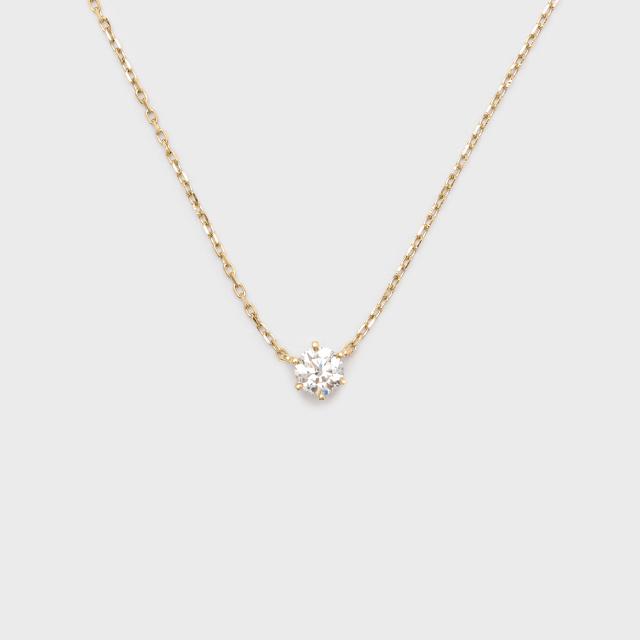 ENUOVE frutta Diamond Necklace K18YG(イノーヴェ フルッタ 0.2ct K18イエローゴールド ダイヤモンドネックレス アジャスターワカンチェーン)