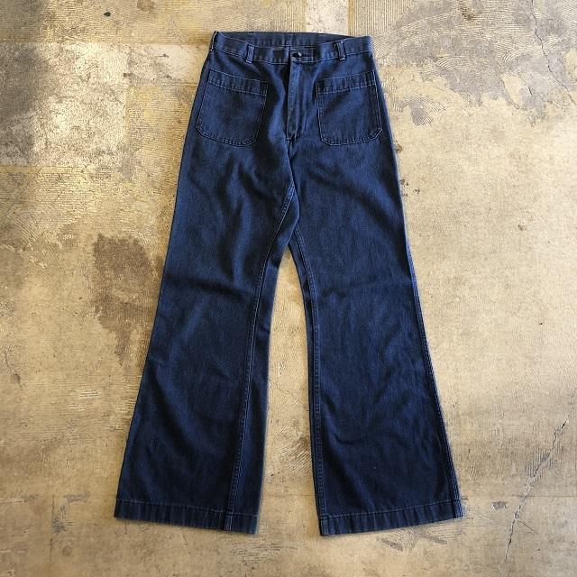 80's DENIM DECK PANTS #BT-111