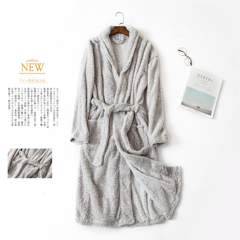【パジャマ】超絶快適 無地もふもふファッションルームウェアワンピース34260861