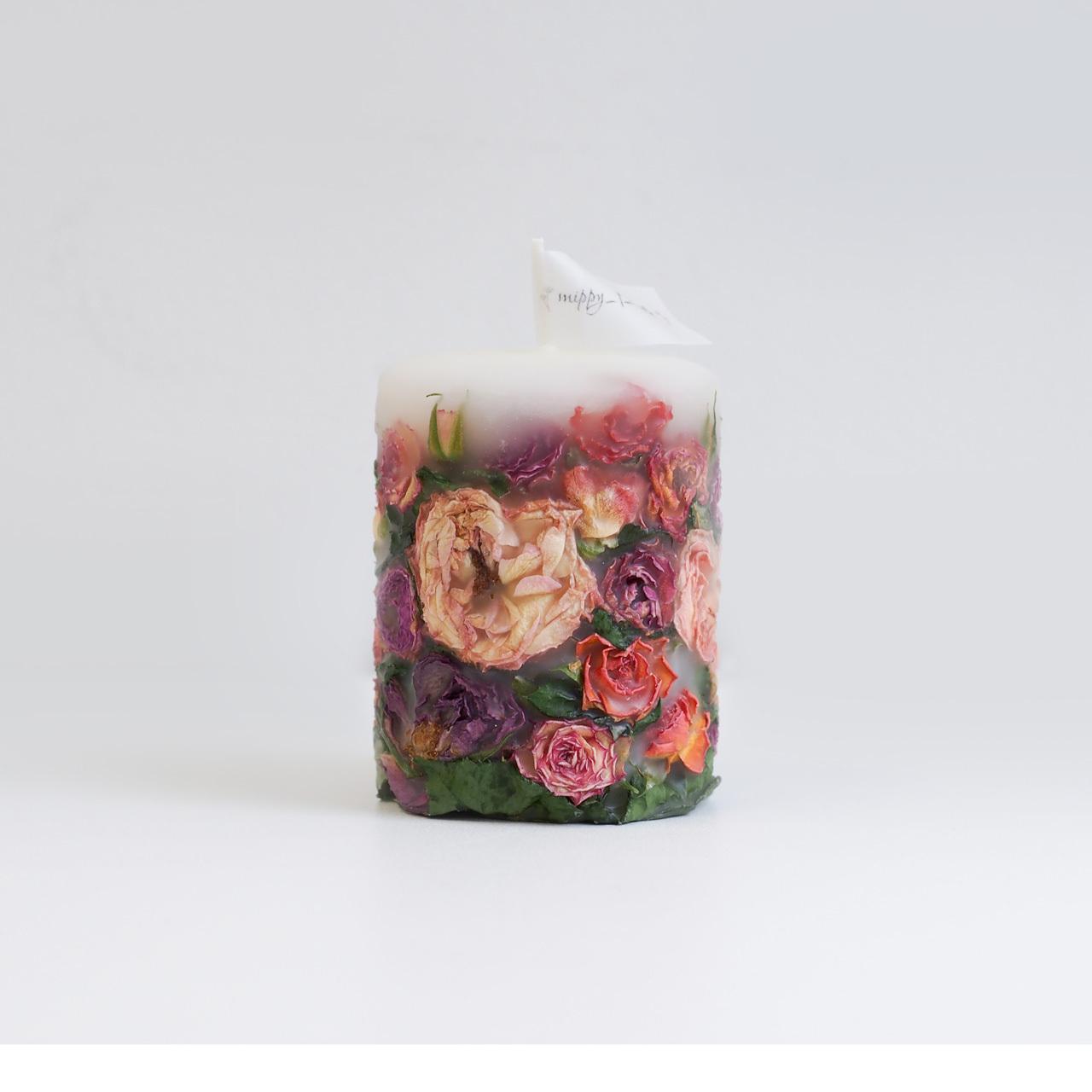 mippy_f_candle「特別なひとときに薔薇香るキャンドル」