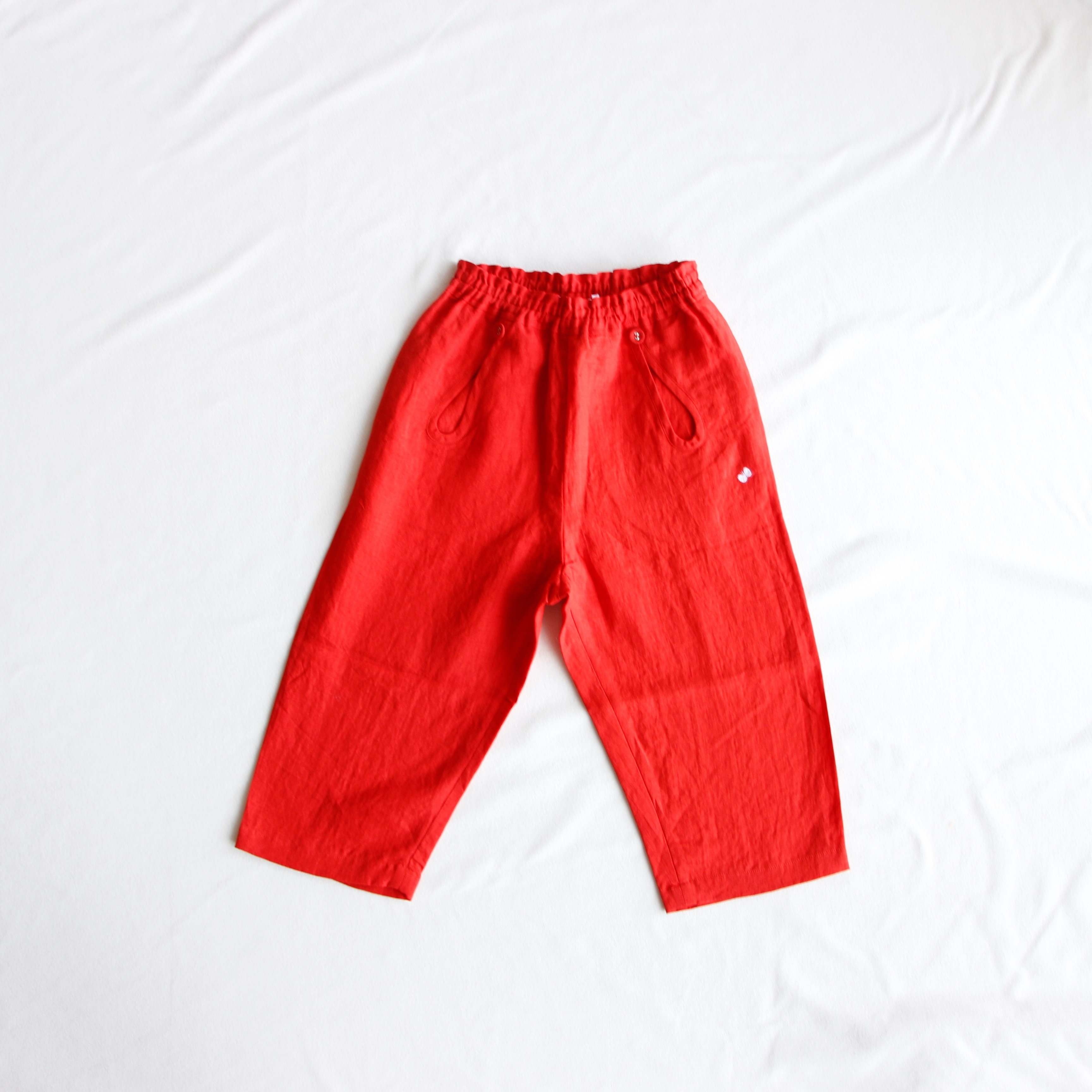 《mina perhonen 2017SS》bonbon パンツ / red / 110・120cm