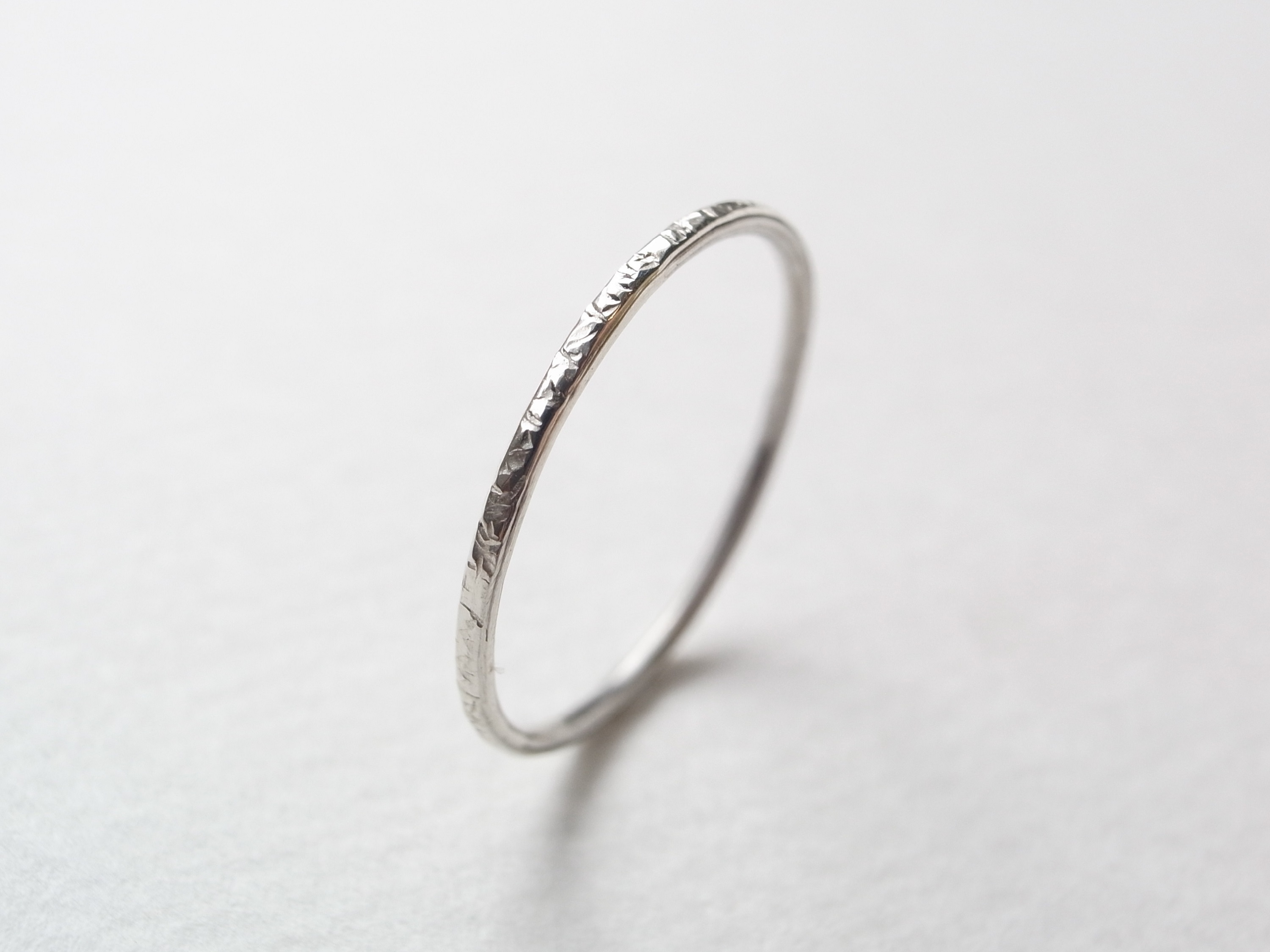 silver950/stardust ring