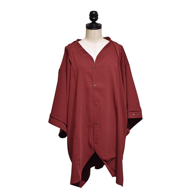 -niitu- / BIGシャツ / Burgundy