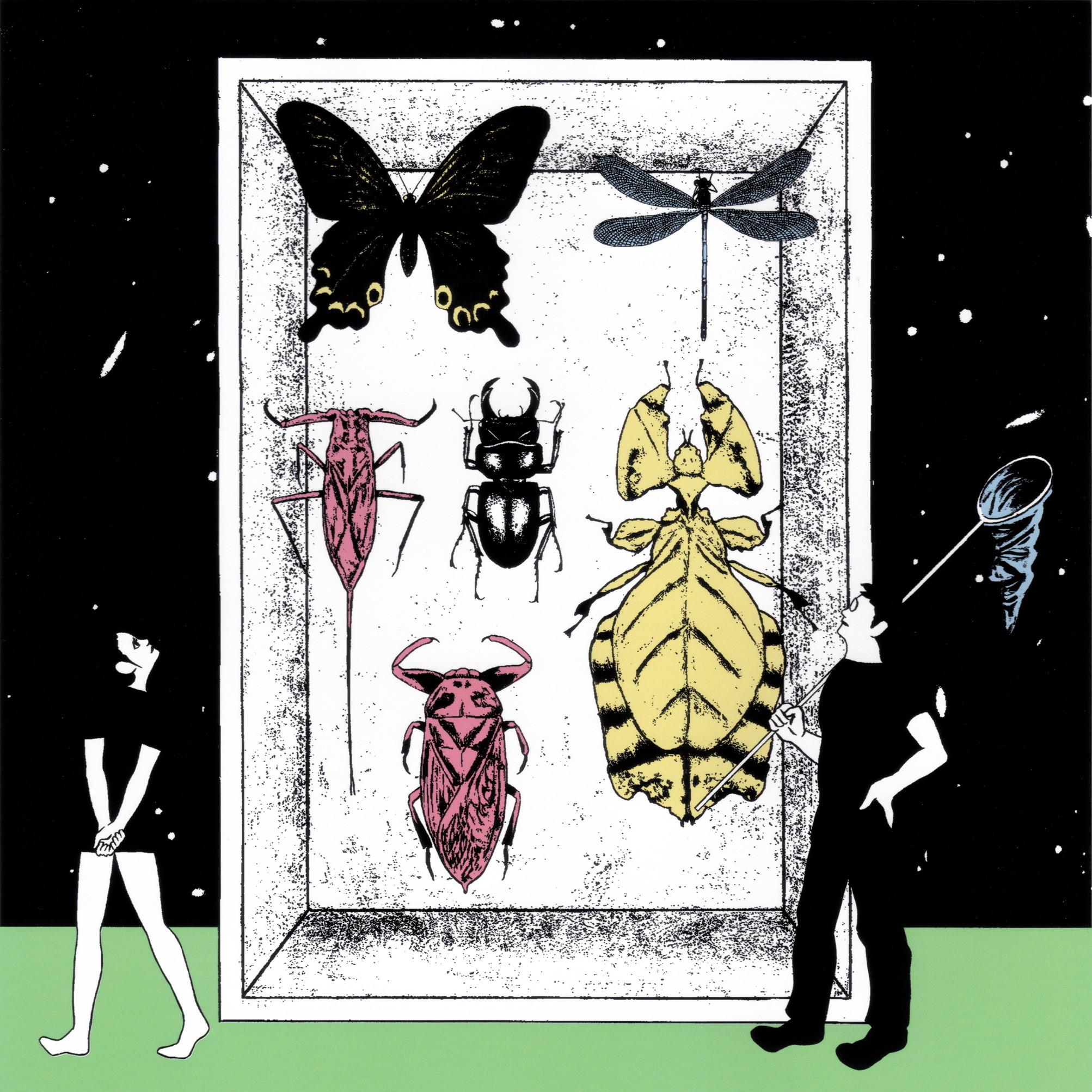 絵画 インテリア アートパネル 雑貨 壁掛け 置物 おしゃれ 現代アート イラストレーション ロココロ 画家 : 斉木晃 作品 : 虫の形而上学
