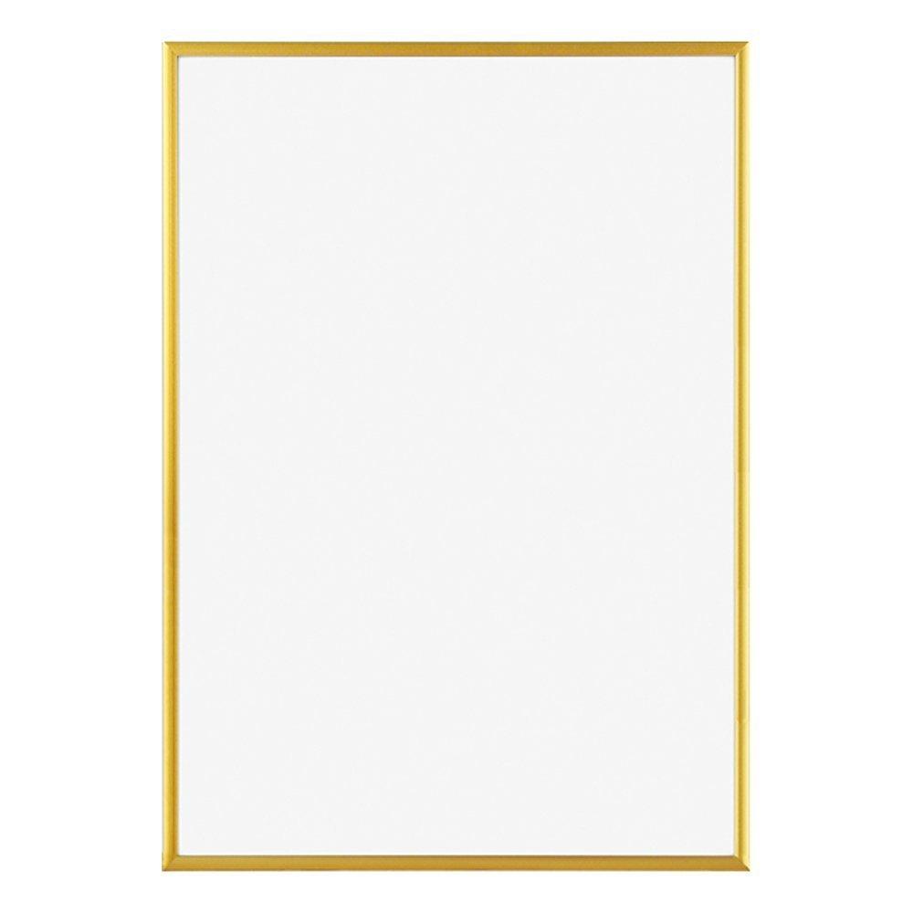 ポスターフレーム フィットフレーム 50x70cm ゴールド