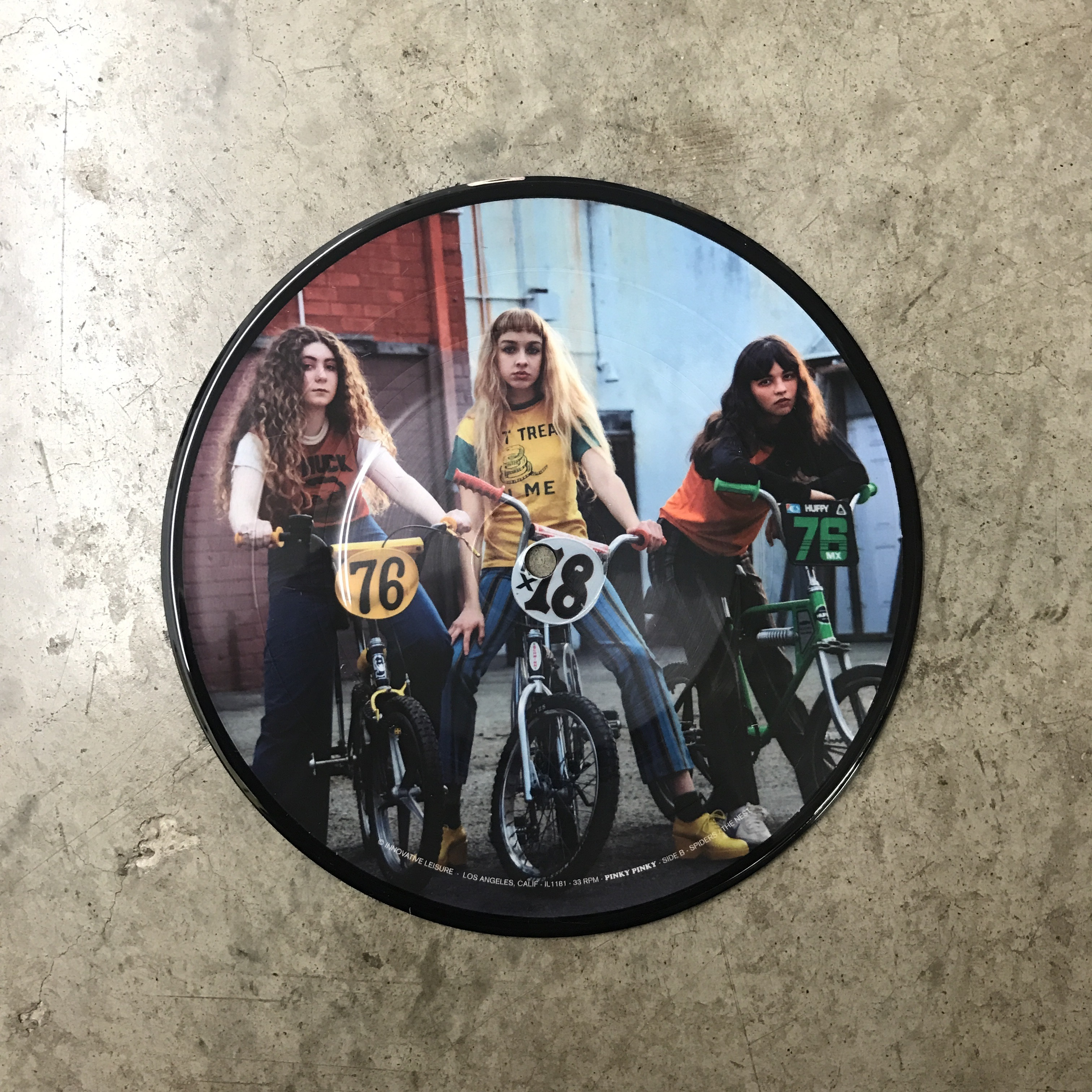 "Pinky Pinky / Pinky Pinky (500 Ltd Picture Disc 7"" Vinyl)"