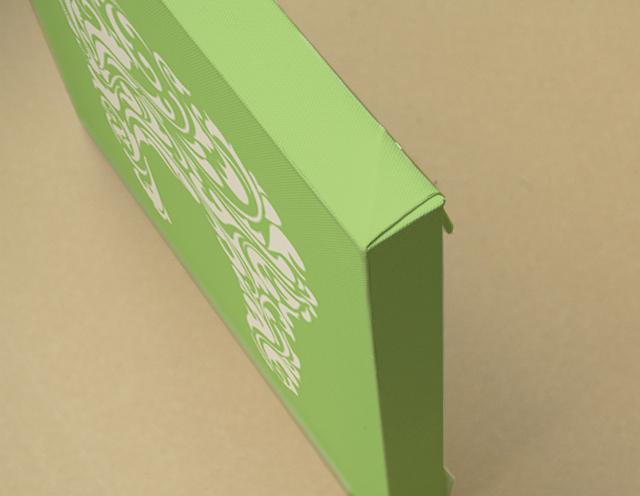 Arabesque Teeth  キャンバスプリント(B3サイズ・木製パネル貼り)
