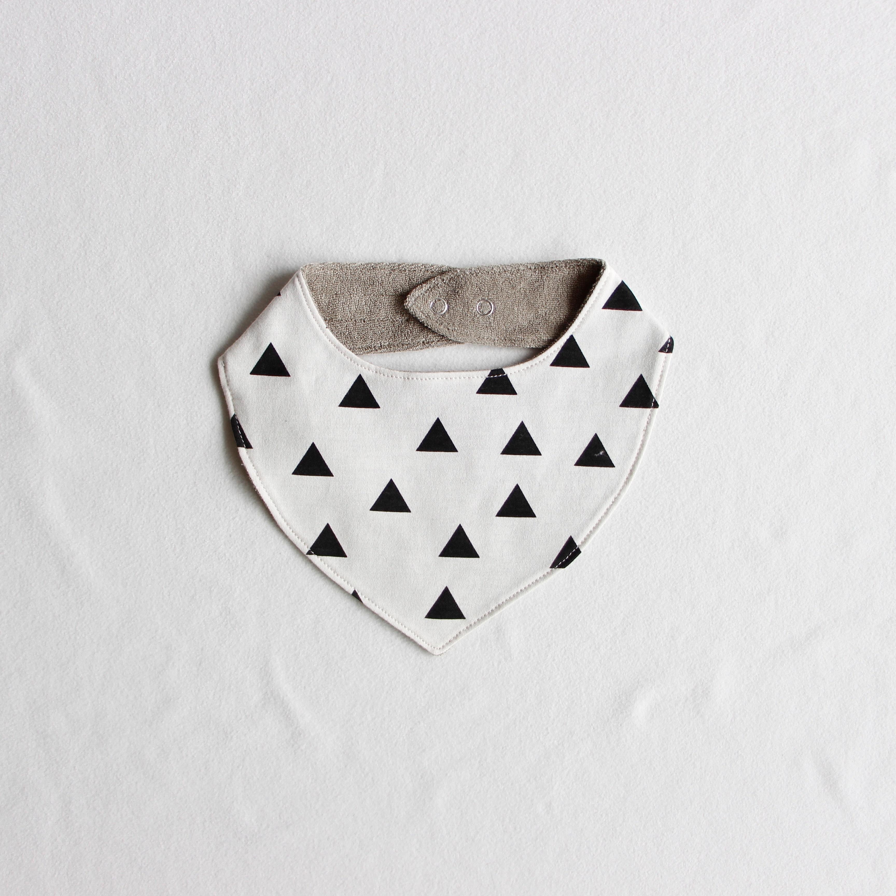 《chocolatesoup 2019SS》GEOMETRY bib / triangle