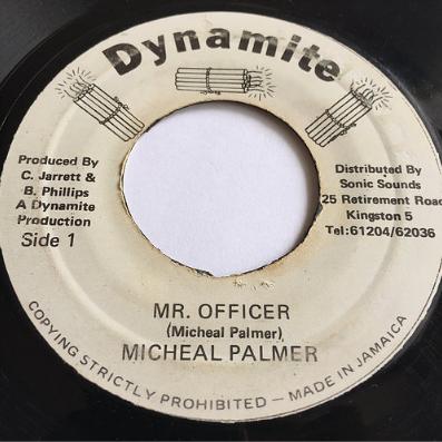 Michael Palmer(マイケルパーマー) - Mr Officer【7'】