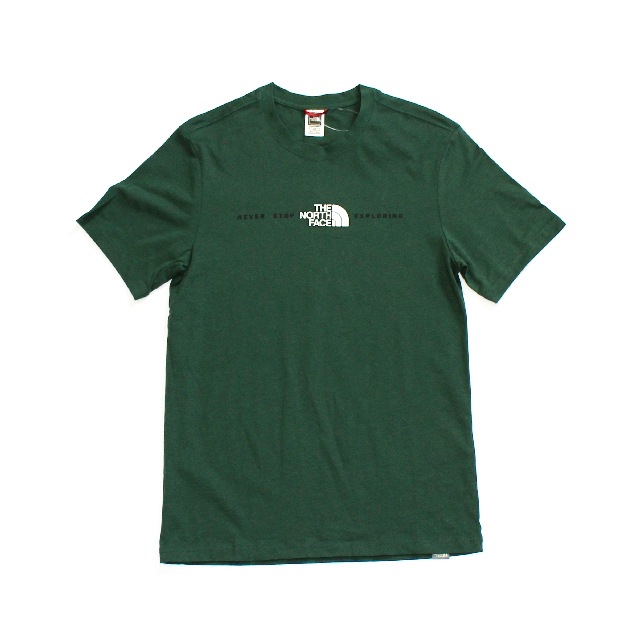 Import / The North Face Central Logo T-Shirt / Green