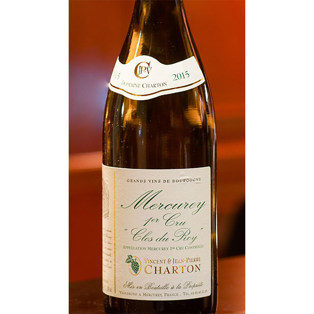 2016年メルキュレ クロ デュ ロワ プルミエ クリュ 白ワイン