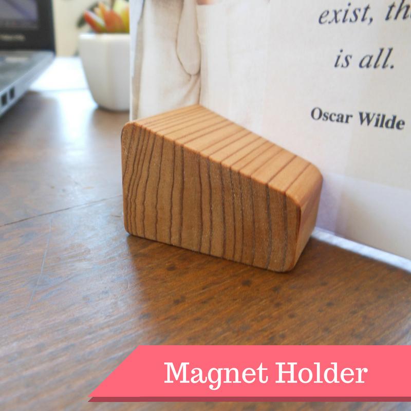【木製マグネットホルダー02】 - 画像1