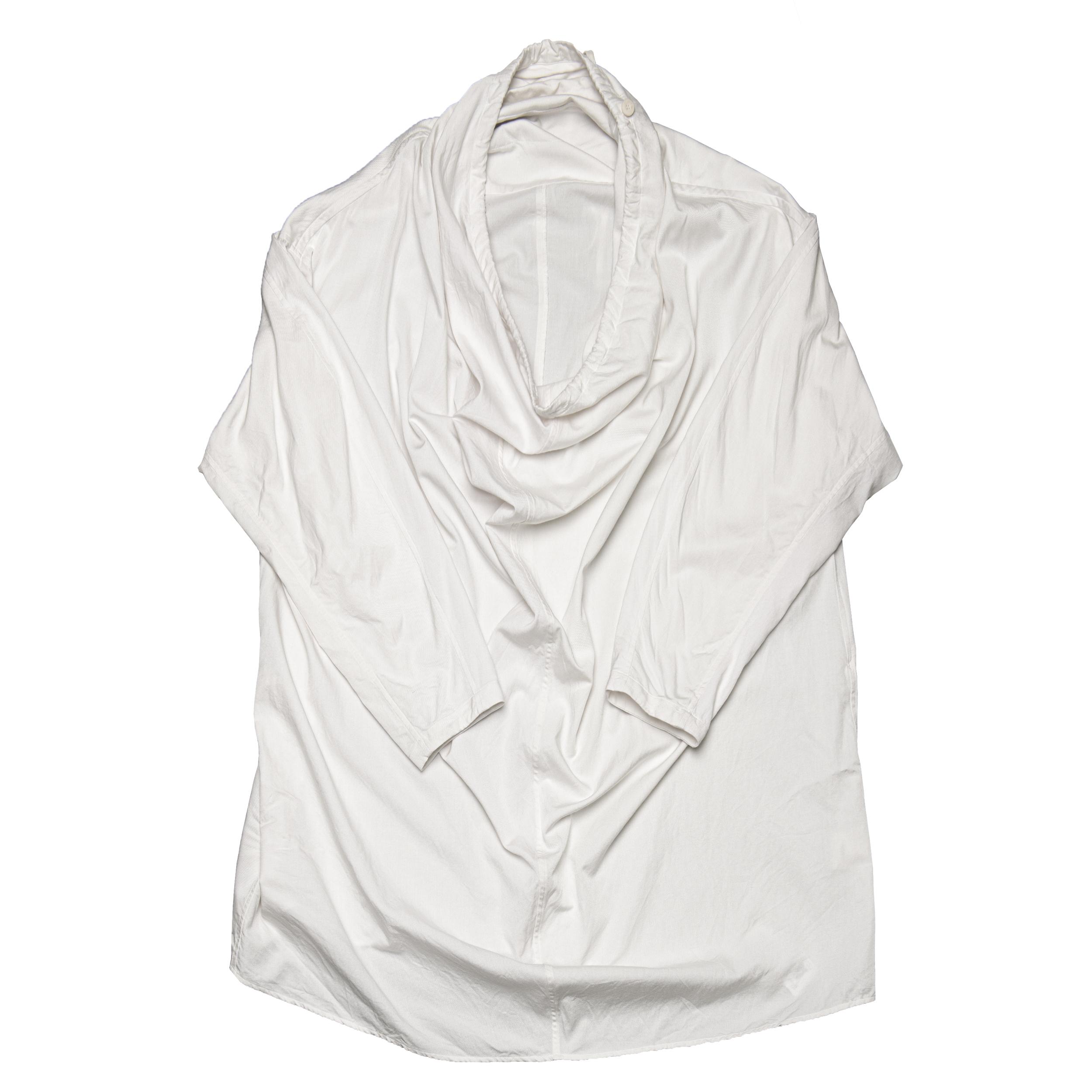 687SHM3-OFF / ドレープネックシャツ
