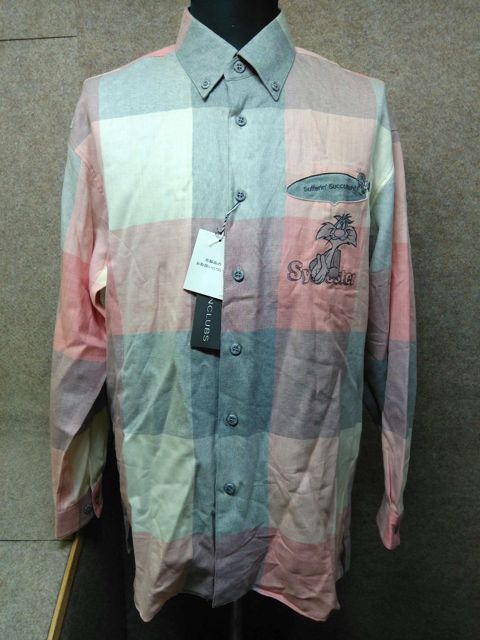 グリーンクラブ ルーニー・テューンズ メンズシャツ 4 u1225a