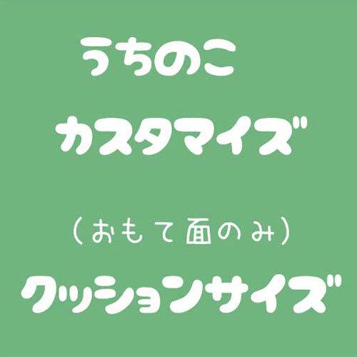 <クッションサイズ>うちの子ヌイグルミ+カスタマイズ