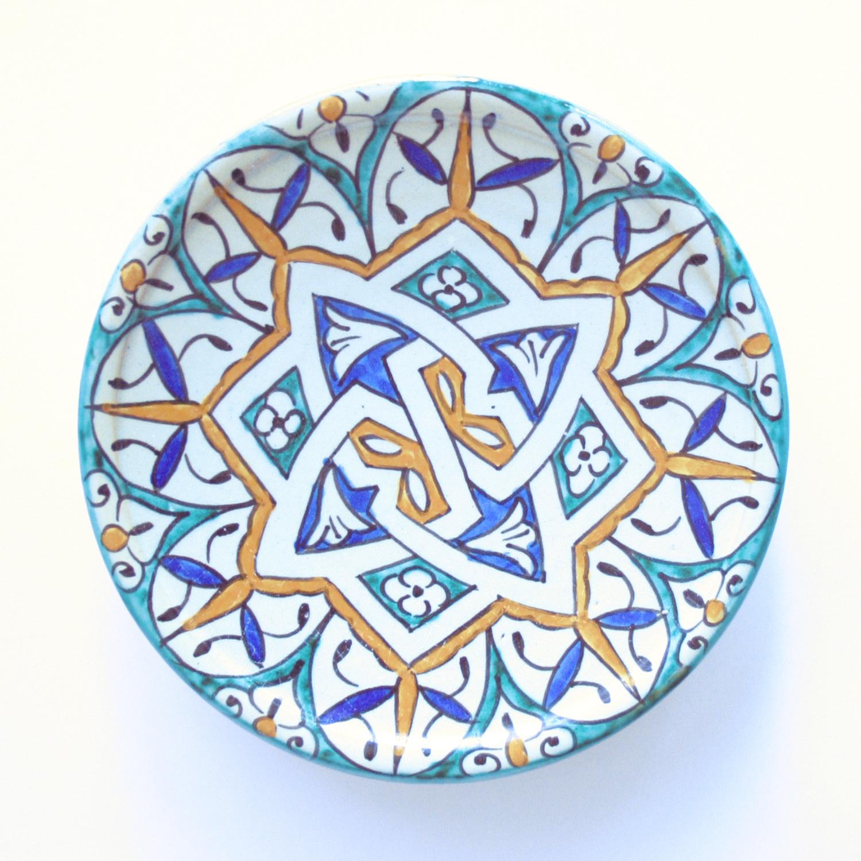プレート皿/37c/フェズ/MOROCCO モロッコ