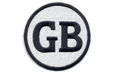 GB・ワッペン・シルバー