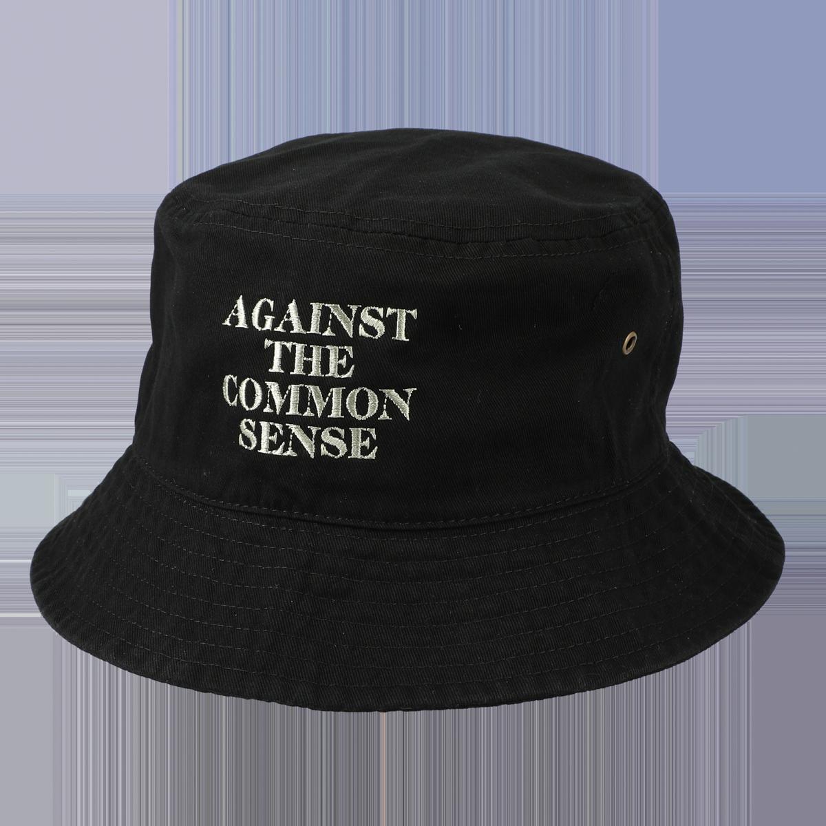 AGAINST LOGO HAT / Black