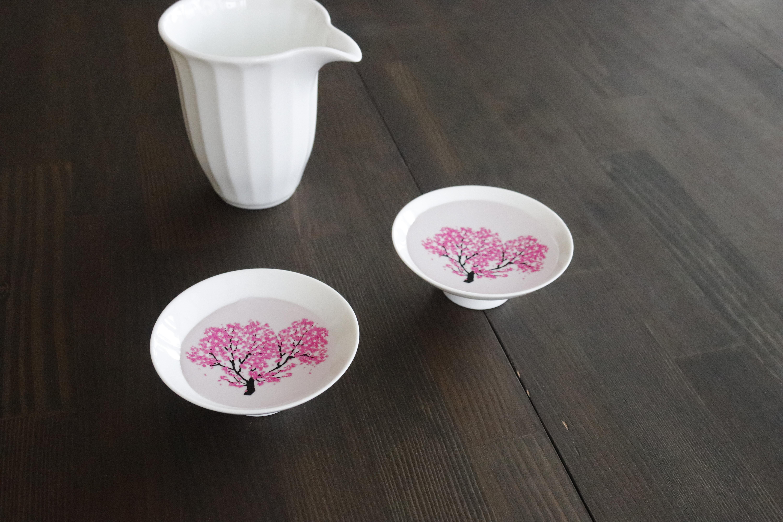 丸 モ 高木 陶器 桜