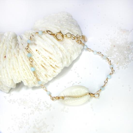 Cowry × Larimer Bracelet