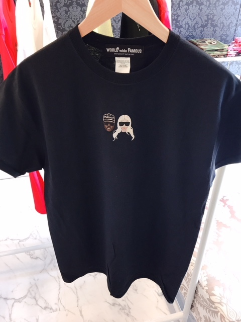 WORLDwideFAMOUSTシャツ★BLACK