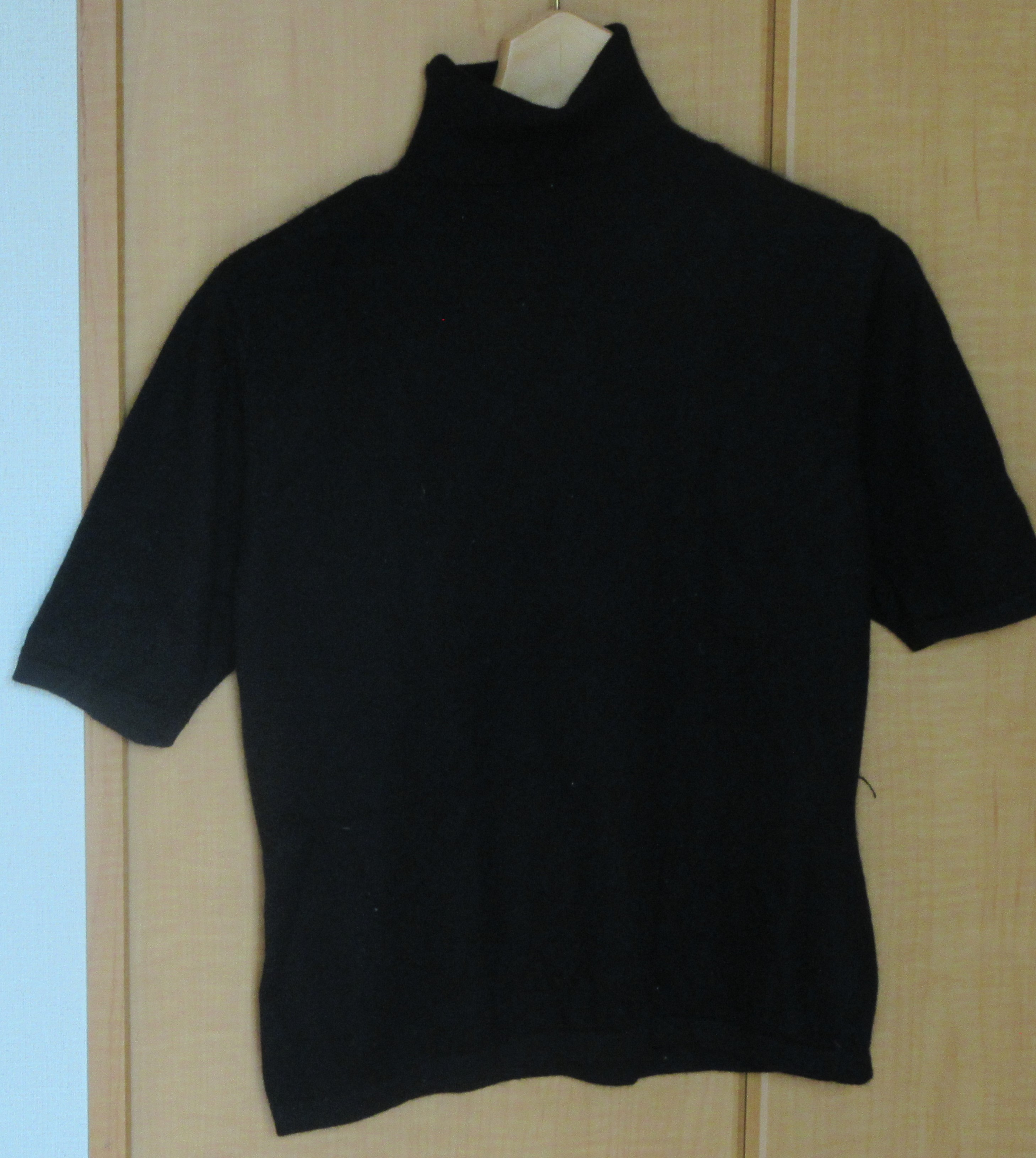 セーター 半袖 カシミア Mサイズ リセール商品