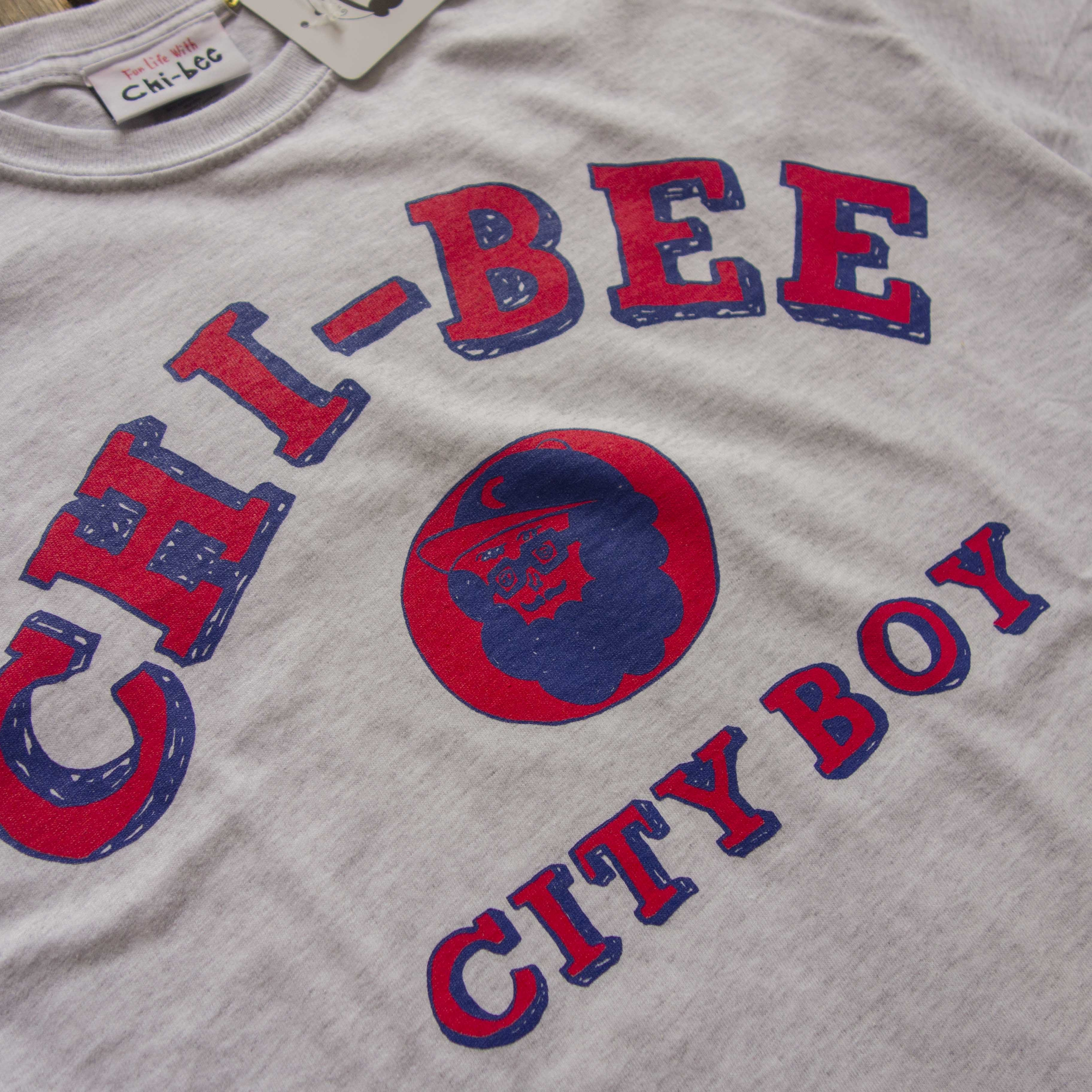新入荷 Chi-bee College Short Sleeve Ash