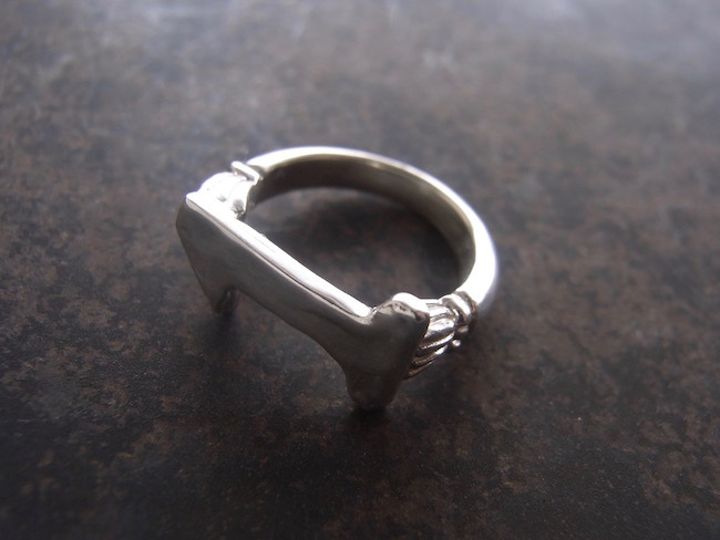 Numero Pinky Ring/数字1のピンキーリング/S