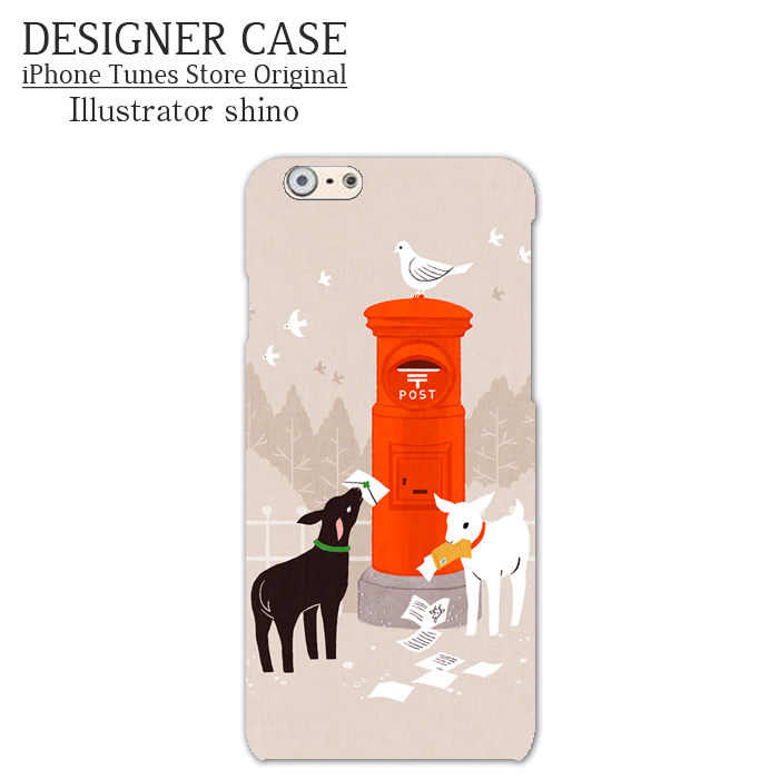 iPhone6 Soft case[Shiroyagi Kuroyagi] Illustrator:shino