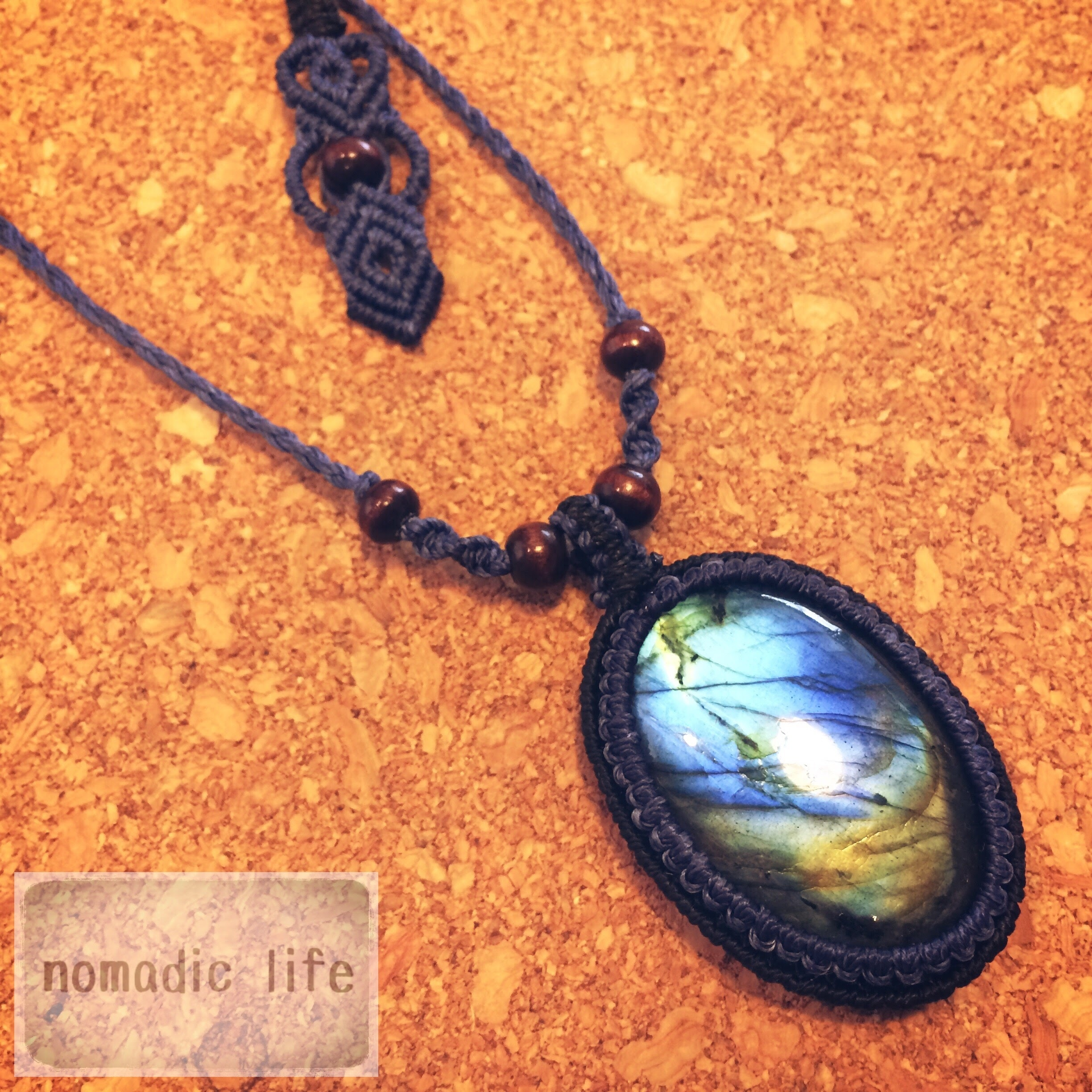 Labradorite Necklace//No.109