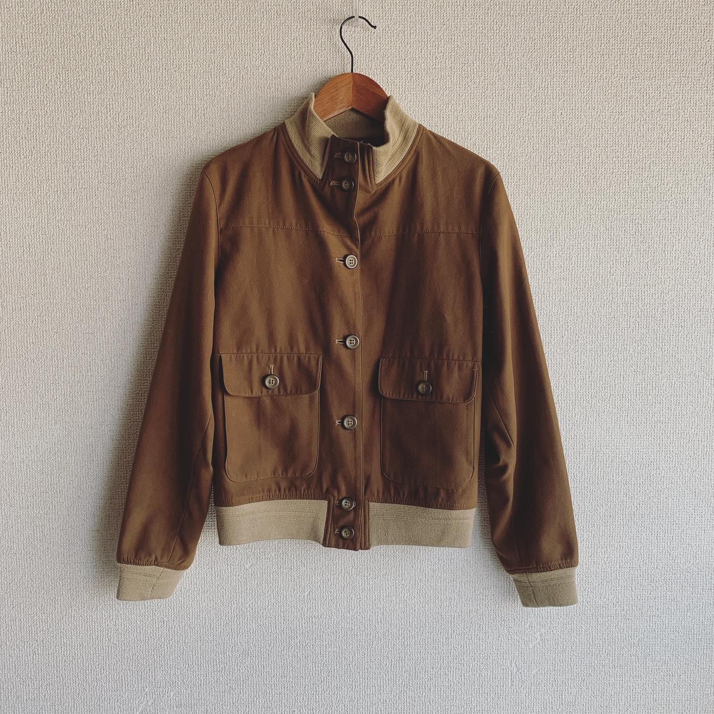 【SALE】vintage stand collar outer