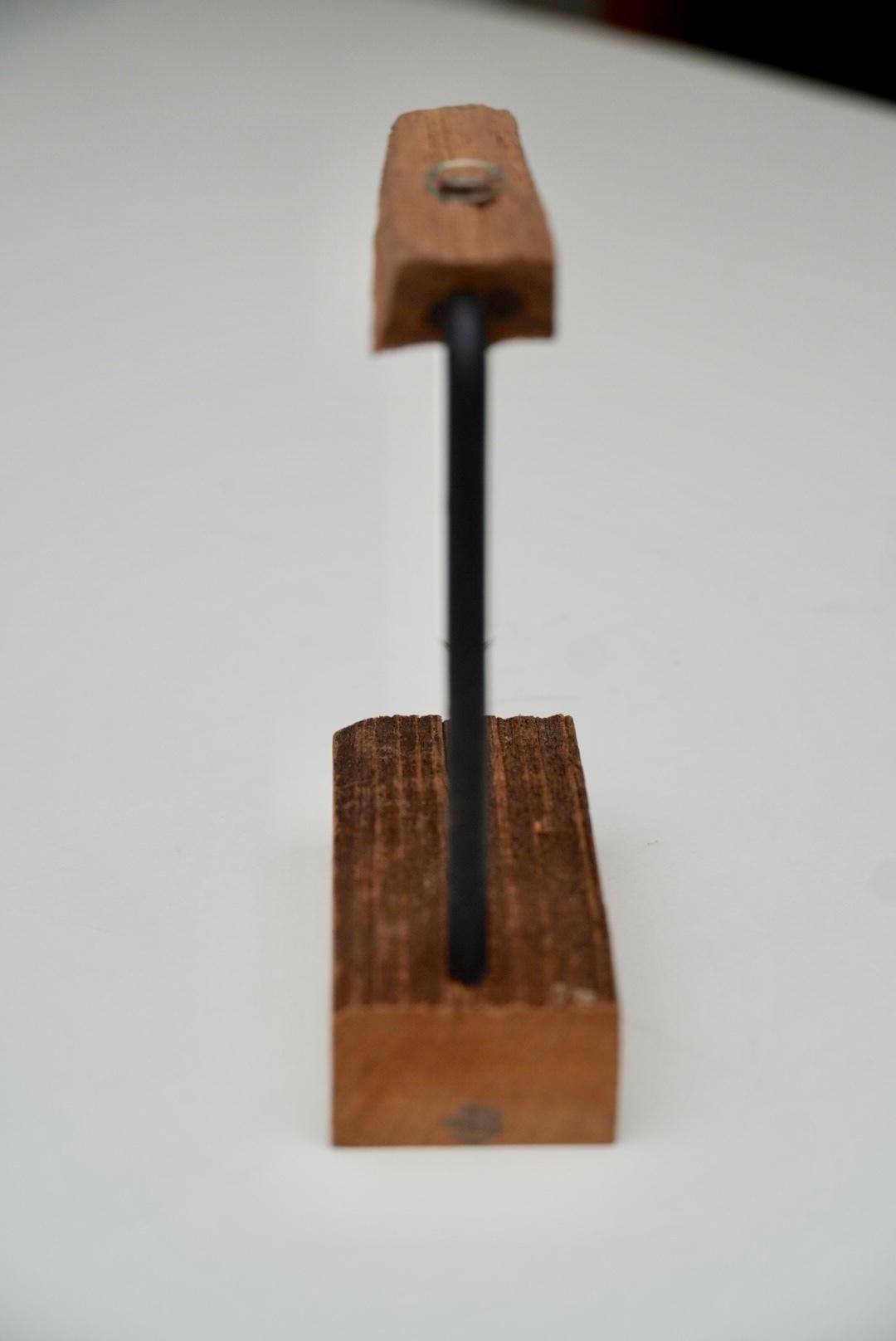 一輪挿し wood