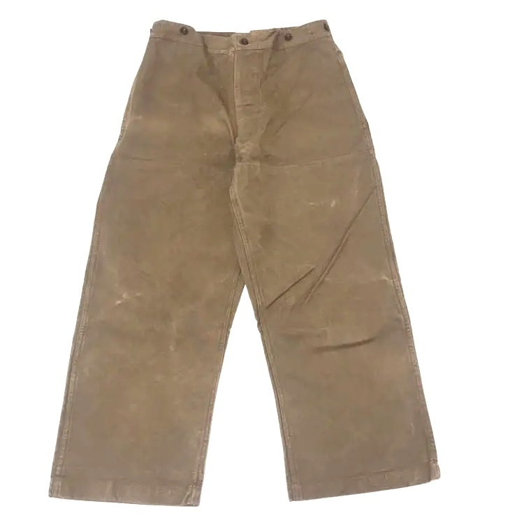 40's SNCF Work Pants High Back and Double Knee