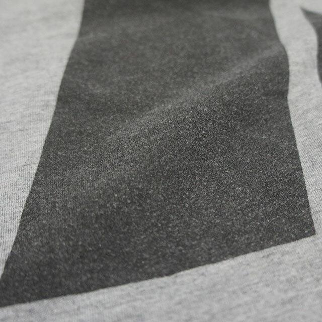 sunny side up サニーサイドアップ リメイクフロントショートT GRAY グレー レディース Tシャツ 半袖 ロゴ ARMY リメイク 古着 通販 (品番sr-188-008)