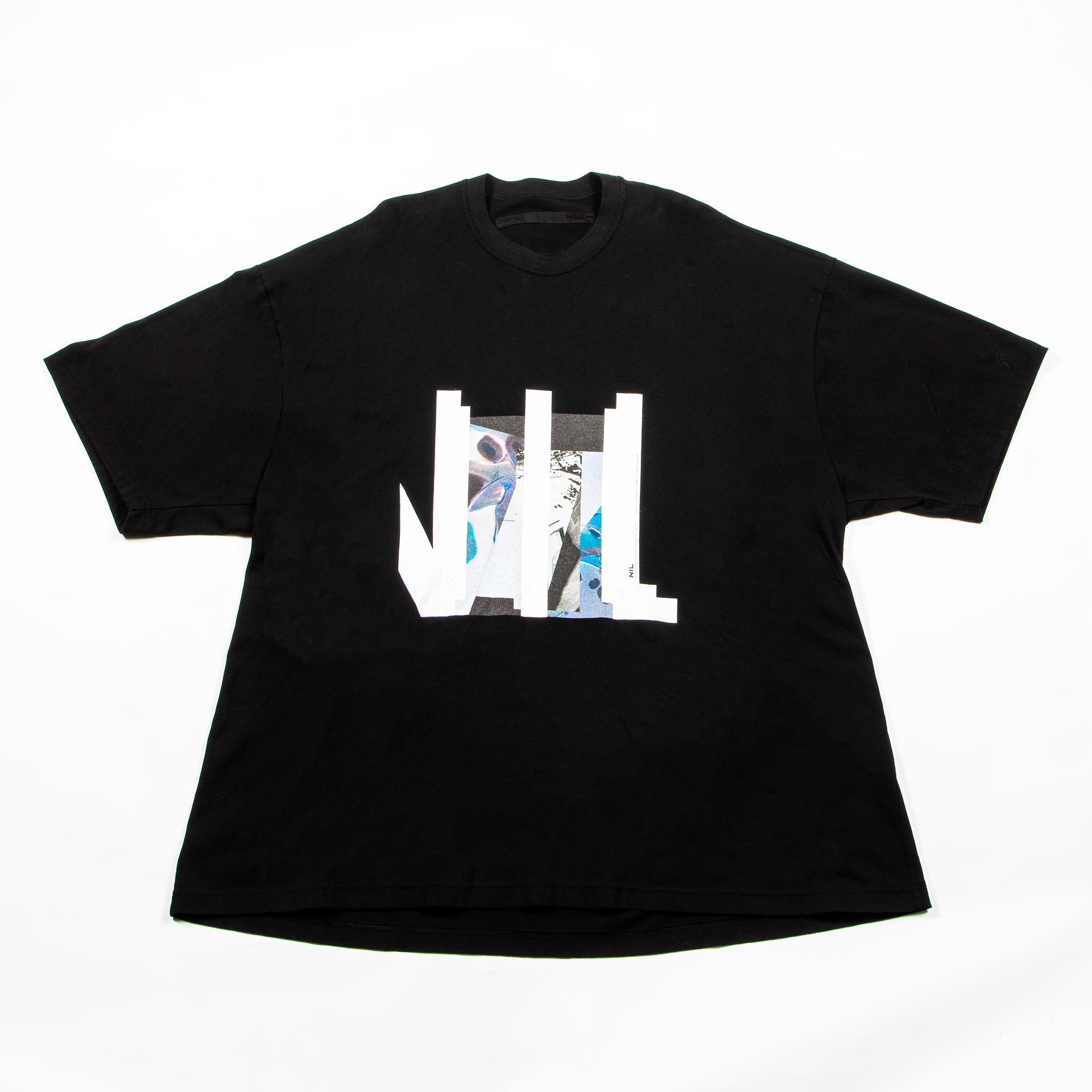 [ 2021 春夏 予約商品 ] 740CPM6-BLACK / NILøS プリント Tシャツ ver.4 / 1月入荷予定