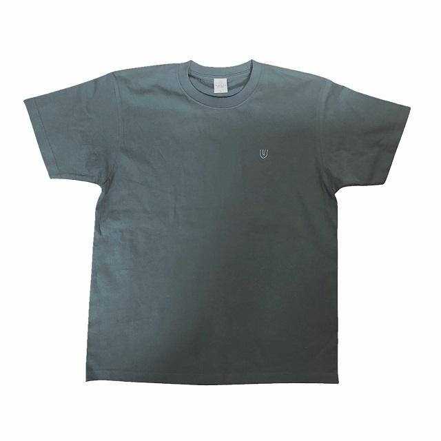 """Symbol -olive×刺繍white-"" (Heavy) T-Shirt"